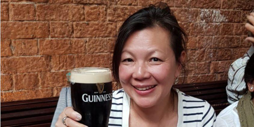 "Guinness convert Merlene Emerson bids Dublin ""Slán go fóill"""